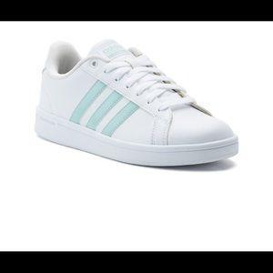 adidas Cloudfoam Advantage Stripe Mint Sneakers
